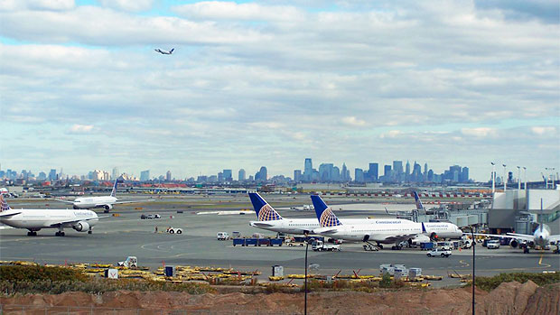 Newark NYC skyline