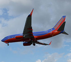 Southwest Airlines Boeing 737 N939WN