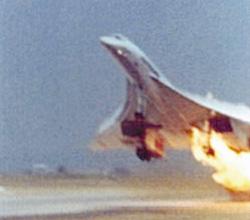 Air France Concorde fire crash