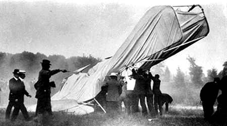 X 15 Crash The wreck of the first crash in powered flight, resulting in the death ...