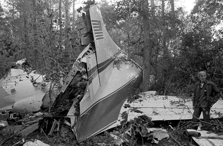 The Convair 420 that killed three members of Lynyrd Skynyrd.
