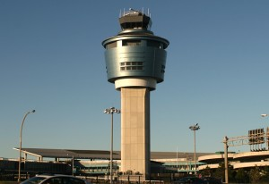 LaGuardia's new control tower is set to go into service within the next two years, replacing the former iconic tower built in 1964.