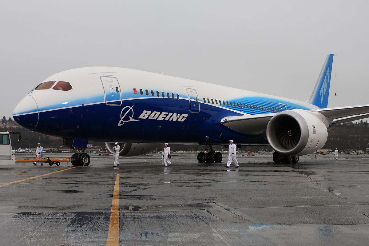 Boeing 787 Dreamliner First Flightnycaviation
