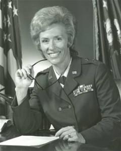 USAF General Jeanne Holm