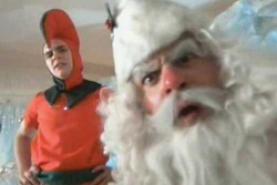 Santa Claus: Scaring kids and intimidating NORAD since 1955.