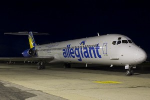 Allegiant has boght 18 more of these bad boys to receive over the coming year from SAS. (Photo by John Musolino)
