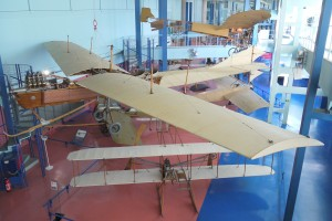 Hubert Latham used this Antionette VII to reach his new altitude record, and also used during attempts to cross the English Channel. Though advanced for the time, you can probably find comparable models in a cereal box. That is courage in aviation…even for a Frenchman.