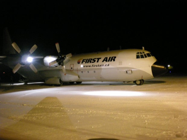 First Air dispatched their two C-130s, this being one of them, to head to Haiti in the early hours of January 15th.