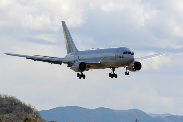 Japan KC-767 Photograph courtesy of Boeing