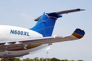 Embraer Legacy N600XL damaged in Gol Flight 1907 crash