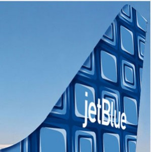 "JetBlue's coming tail-fin, ""Building Blocks""."