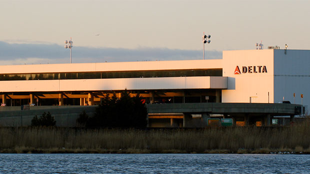 Delta terminal at LaGuardia Airport