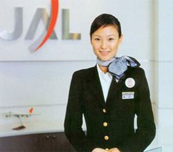JAL flight attendant