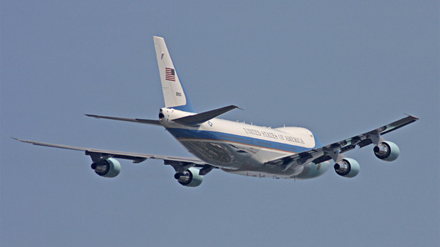 Air Force One departure