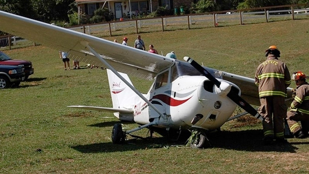 Cessna 172N crash N3480E