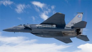 F-15E1 Silent Eagle on its first successful flight