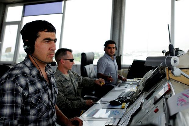 Gh Masoom Masoomi Afghan Air Traffic Controller Kabul Airport