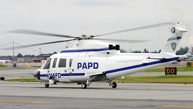Port Authority Police Department Sikorsky S-76A N116PD