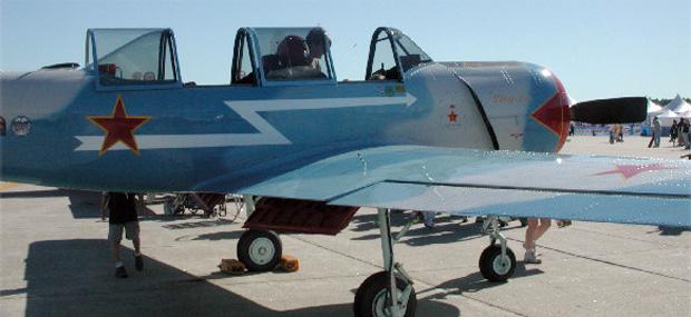 Yakolev Yak-52 N52MY