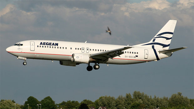 Aegean Airlines 737-400 SX-BGX