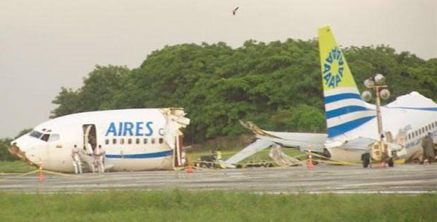 AIRES 737-700 HK-4682 crash