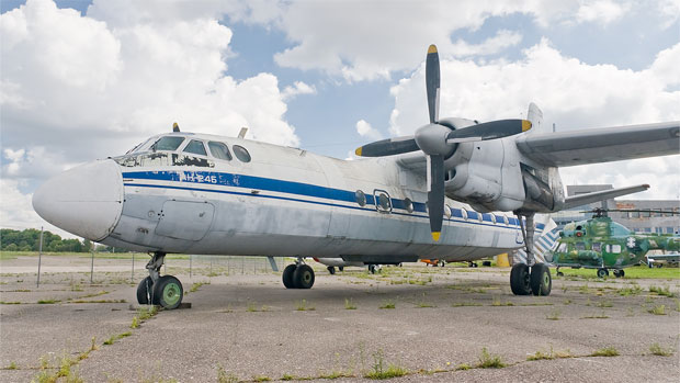 Preserved Antonov An-24
