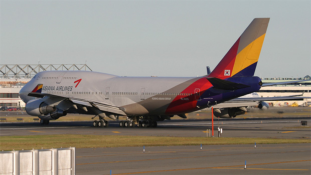 Asiana 747-400 HL7428