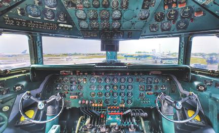 N836D restored cockpit