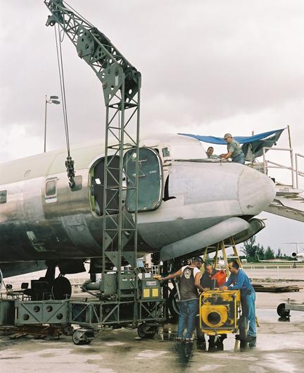 DC-7 gantry crane