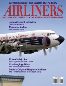 Airliners Magazine cover May/June 2010 issue 123