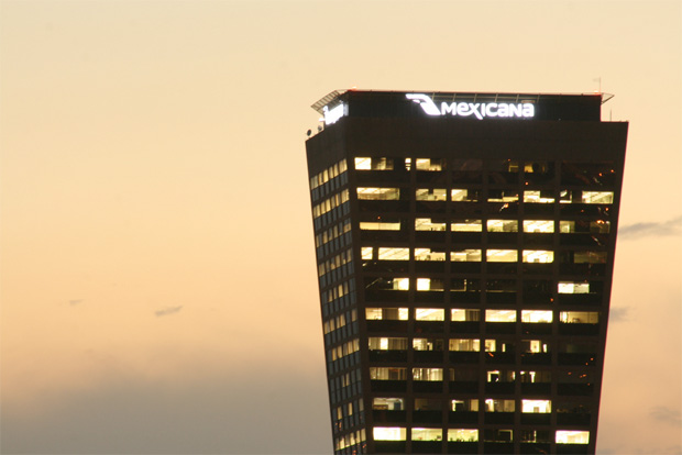 Mexicana de Aviación Tower in Mexico City