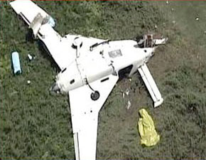 N444YP plane crash San Diego
