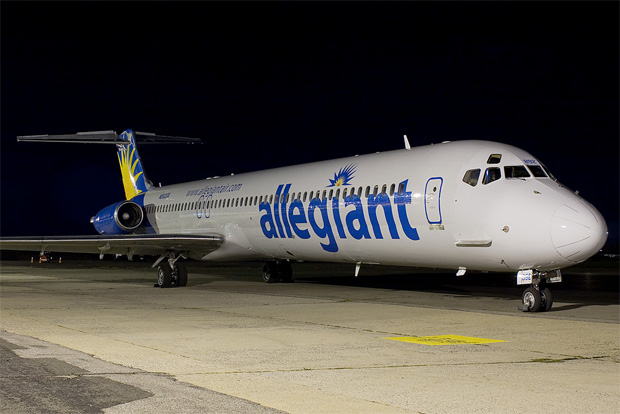 Allegiant MD-83 N892GA