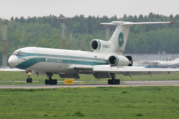 Alrosa Tu-154M