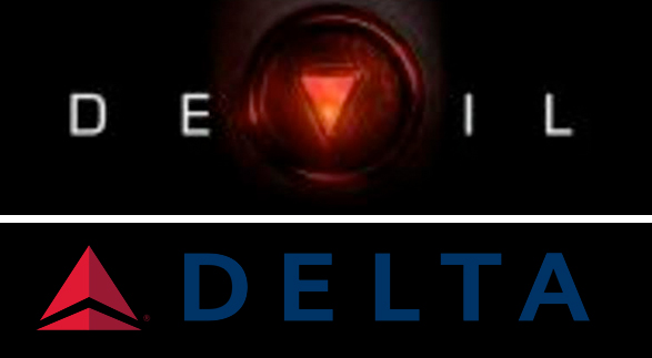 Devil Logo vs Delta Logo