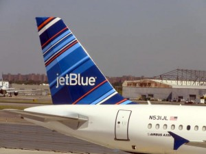 JetBlue All Blue Can Jet Airbus A320 N531JL