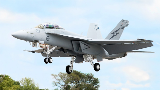 Royal Australian Air Force F/A-18 Super Hornet