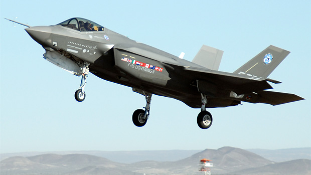 Lockheed Martin F-35 Joint Strike Fighter AA-1