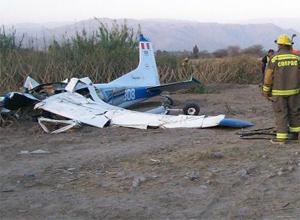 Air Nasca crash in Peru