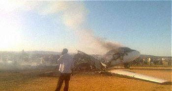 Tarco Antonov AN-24 Crash Darfur Sudan