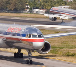 American Airlines 757 N645AA
