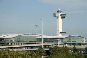 JFK airport control tower terminals
