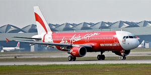 AirAsia A320 9M-AFK at Kuala Lumpur Airport