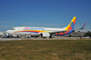 Air Jamaica new livery 9Y-JMA