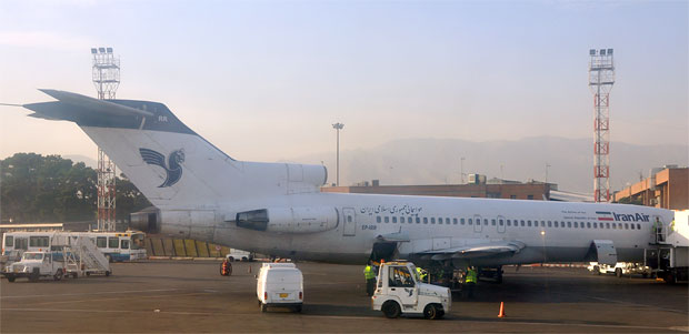Iran Air Boeing 727 EP-IRR Mehrabad Airport THR