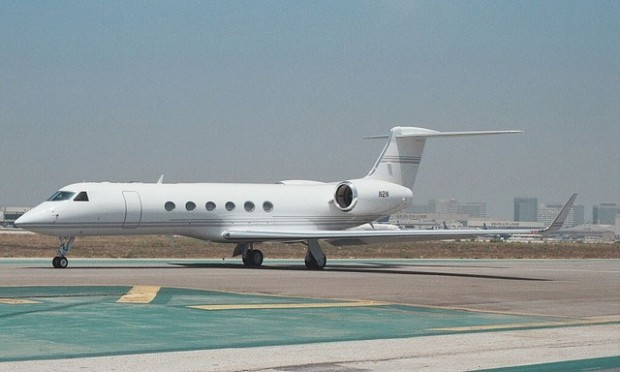 The Top Ten Celebrity Jets