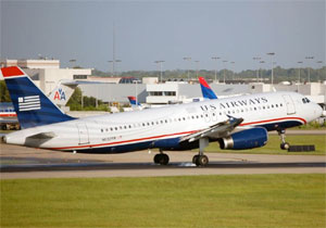 US Airways A320 N632AW at CLT Charlotte