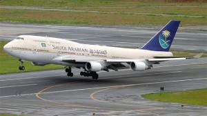 Saudi Arabian 747-400 HZ-AIW