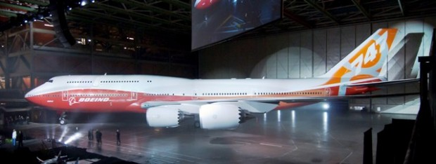 Boeing 747-8I public rollout
