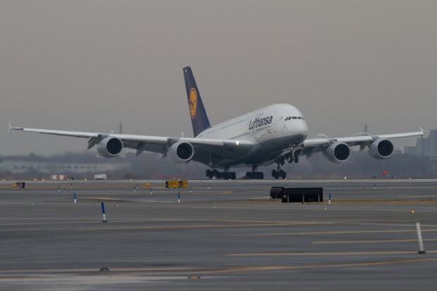Lufthansa A380 D-AIMB JFK